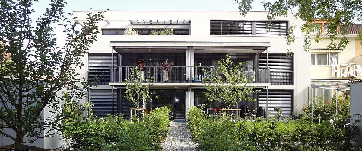 Gartenfassade Göschenenstrasse Basel