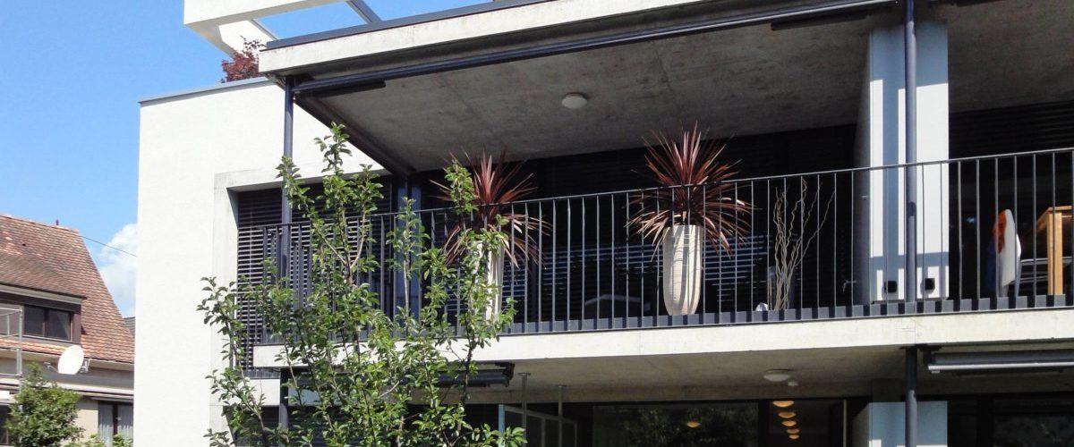 Balkon Gartenseite Göschenenstrasse