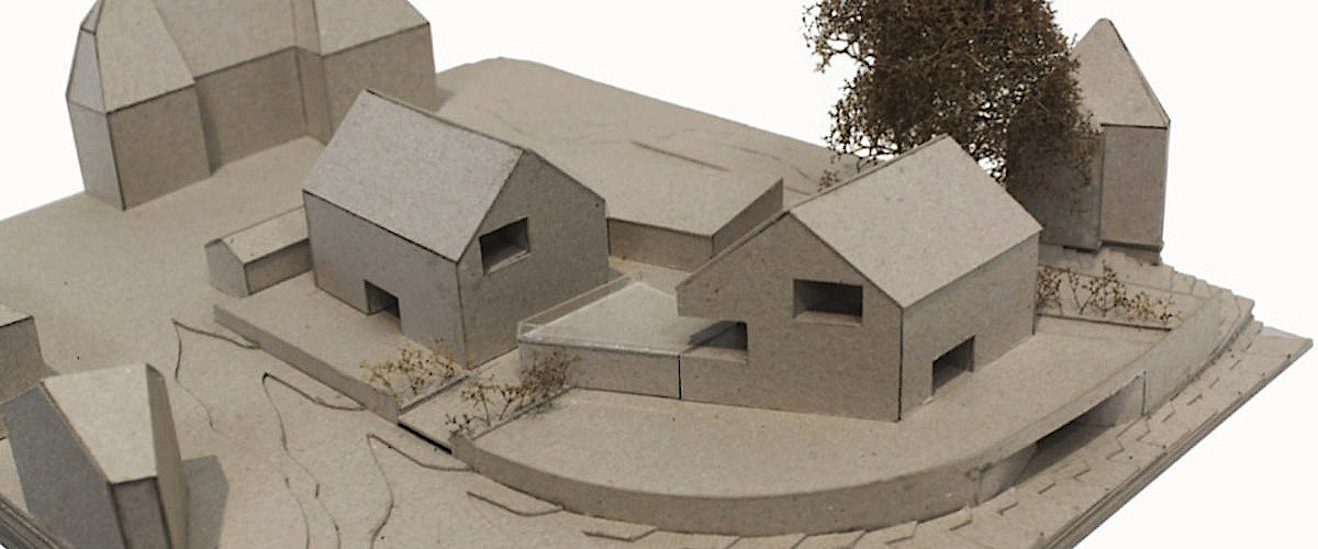Modellfoto Amselstrasse Basel, © Ferrara Architekten AG