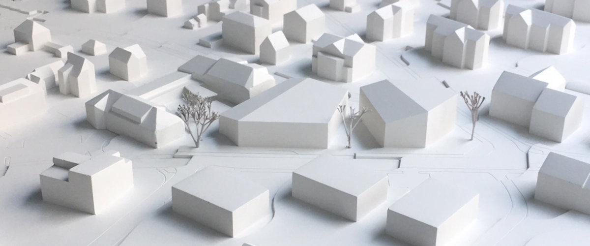 Gemeindesaal Modellfoto, ©K2 Architekten Basel