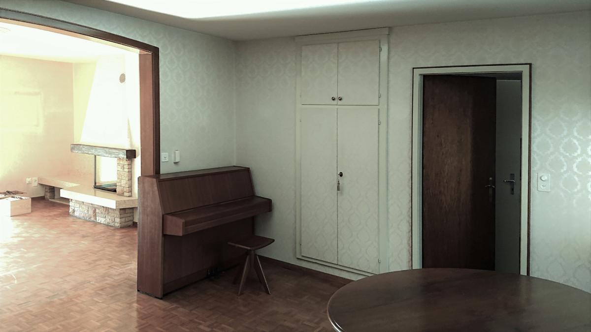 Umbau EFH Oberwil - Wohnraum alt