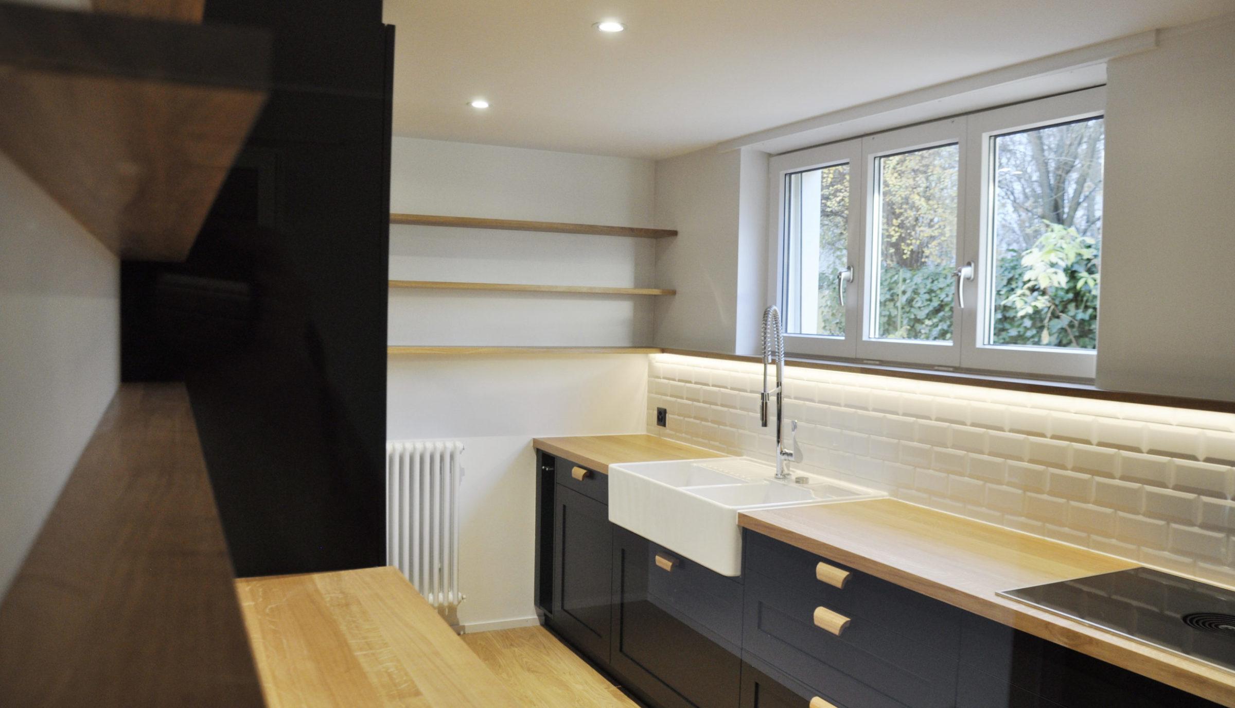 Umbau EFH Oberwil - neue Küche